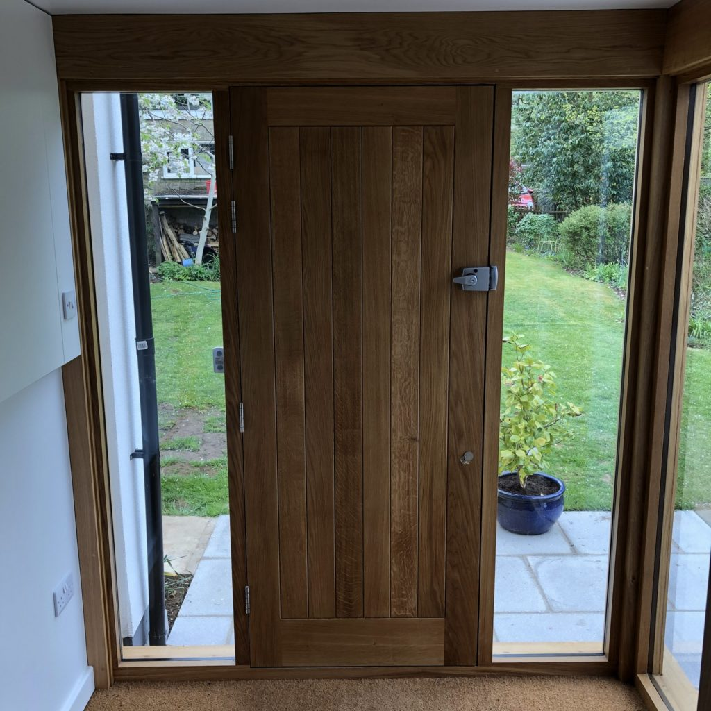 Oak Extension – Toddington  © Oak Hill Joinery Ltd