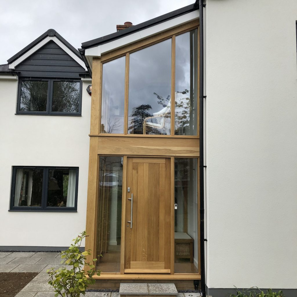 Oak Extension – Toddington  © Oak Hill Joinery Ltd